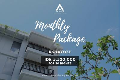 Monthly Package (Room Only)